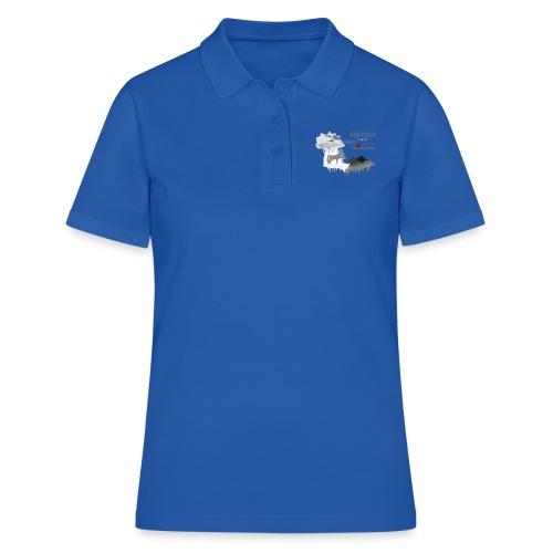 night white - Frauen Polo Shirt