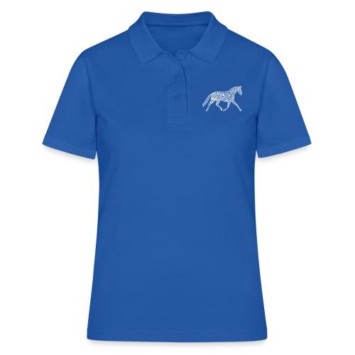 Körpertraining Logo weiß - Frauen Polo Shirt