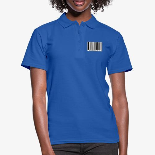 TM graphic Barcode Answer to the universe - Women's Polo Shirt