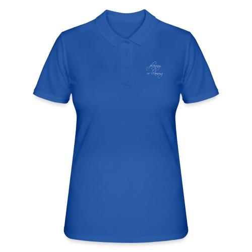 playing is learning - Frauen Polo Shirt