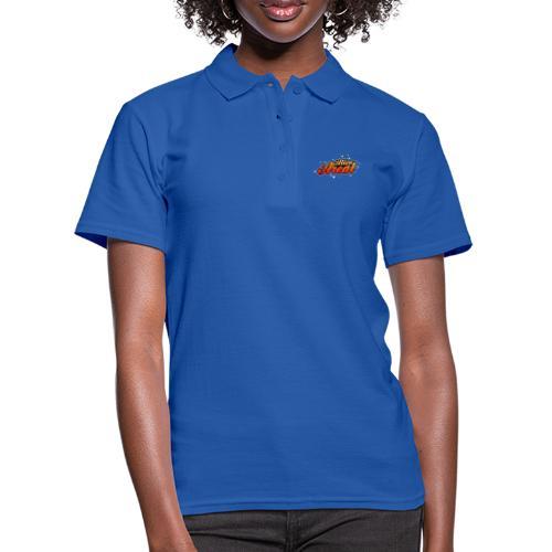 Colorful Alien Logo - Poloskjorte for kvinner
