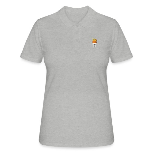piña colada - Camiseta polo mujer