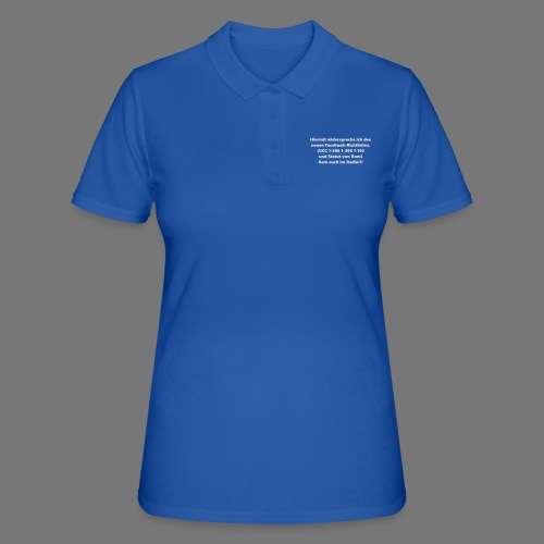 Facebook-AGB - Männer - Frauen Polo Shirt