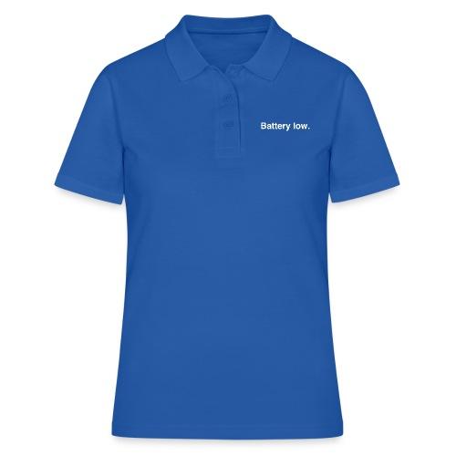 Battery Low - Women's Polo Shirt