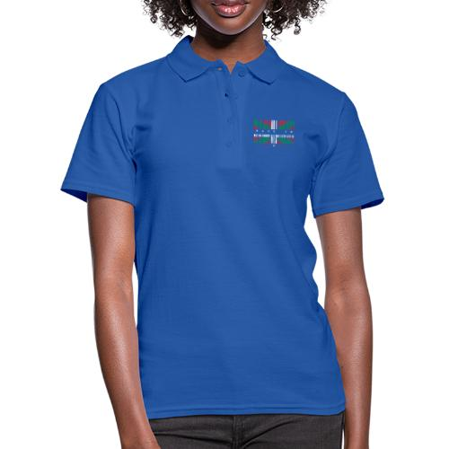 Made in Euskadi Color Grunge - Camiseta polo mujer