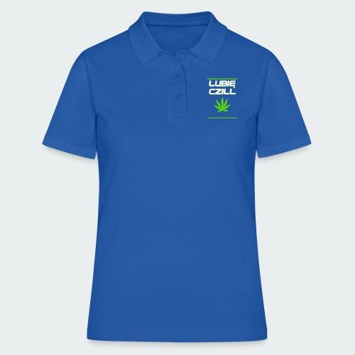 Męska Koszulka Premium Czill - Koszulka polo damska