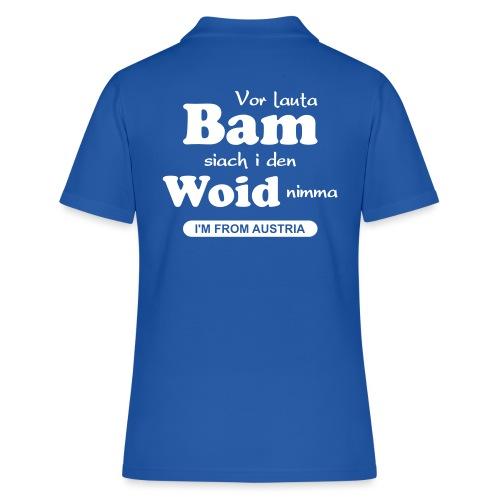 Vor lauta Bam siach i den Woid nimma - Frauen Polo Shirt