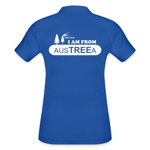 BAM OIDA! I am from AusTREEa (Österreich) - Frauen Polo Shirt