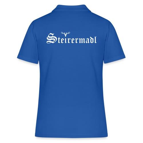 Steirermadl mit Hirsch - Frauen Polo Shirt