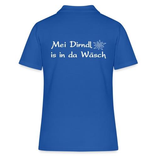 Mei Dirndl is in da Wäsch - Frauen Polo Shirt