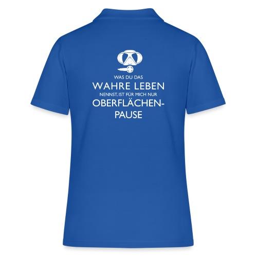 Oberflächenpause - Frauen Polo Shirt