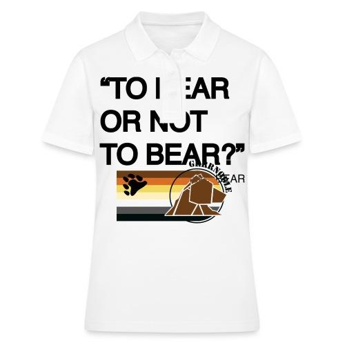 grrr_shakesbearTo bear or not to bear - Polo Femme