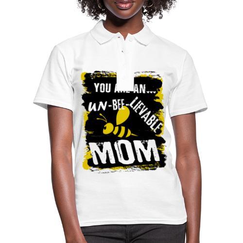 you are an... un-BEE-Lievable mom - Frauen Polo Shirt