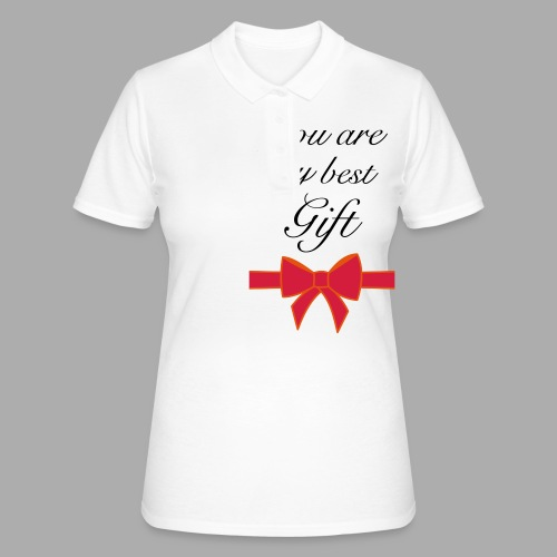 you are my best gift - Women's Polo Shirt