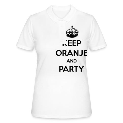 KEEP ORANJE AND PARTY - Women's Polo Shirt