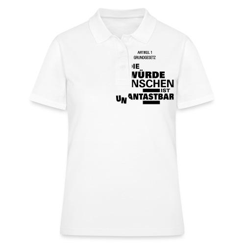 Un Antastbar - Frauen Polo Shirt