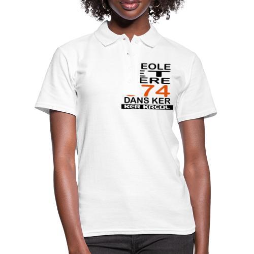 974 ker kreol - Kreole et Fiere - Polo Femme