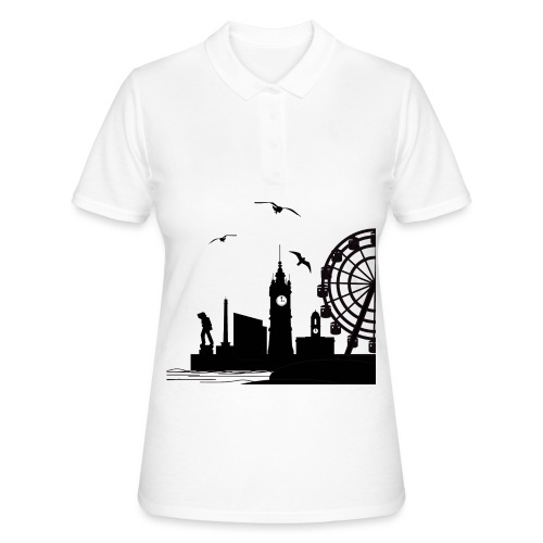 Silhouette of Margate - Women's Polo Shirt