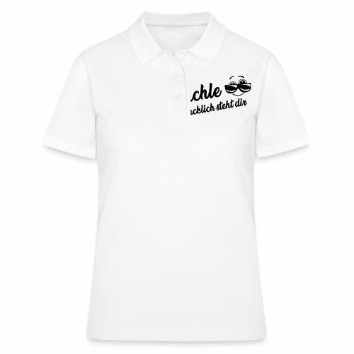 Lächle - Glücklich steht dir - Frauen Polo Shirt