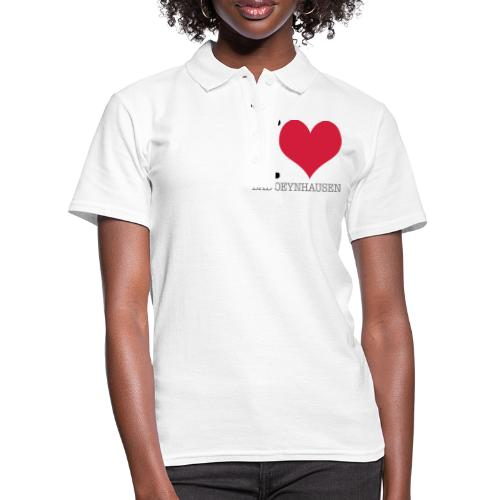 Love is in the Kurstadt - Frauen Polo Shirt