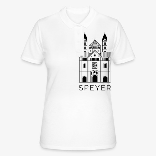Speyer - Dom - Modern Font - Frauen Polo Shirt
