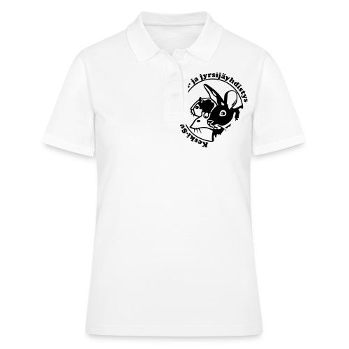 KSKJY logo - musta - Women's Polo Shirt