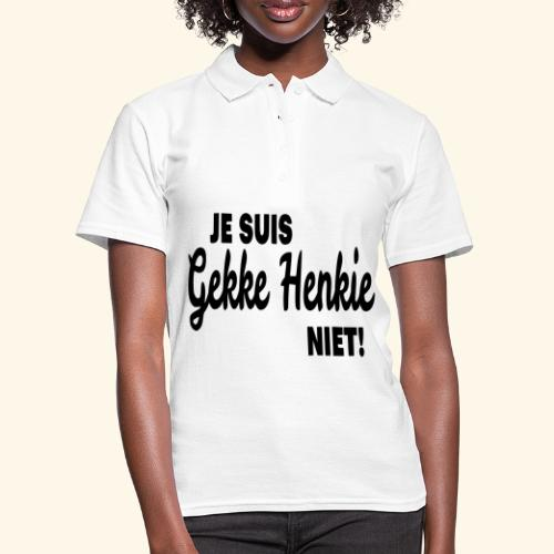Gekke Henkie 002 - Women's Polo Shirt
