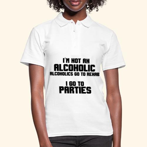 Ik ben geen alcoholverslaafde - Women's Polo Shirt