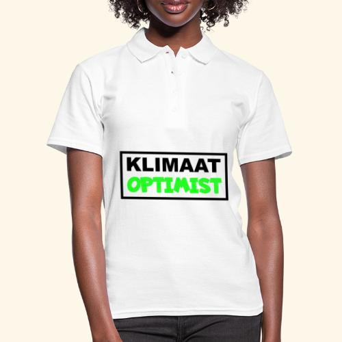 Klimaat optimist - Women's Polo Shirt