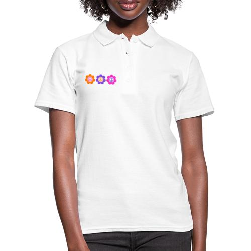 Power Flowers Of Peace Trilogy 1 - Frauen Polo Shirt