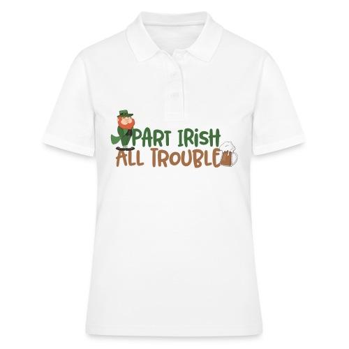 Irische Party - St. Patrick's Trouble Kobold - Frauen Polo Shirt