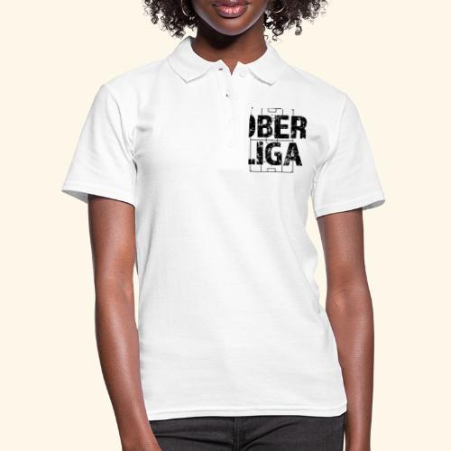 OBERLIGA im Fußballfeld - Frauen Polo Shirt