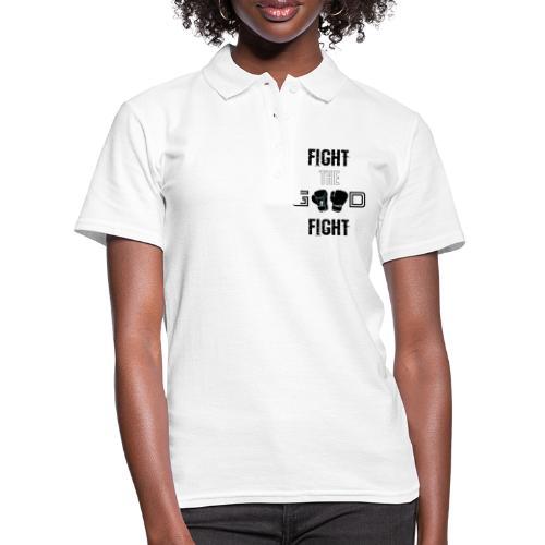 Fight the Good Fight Black - Frauen Polo Shirt