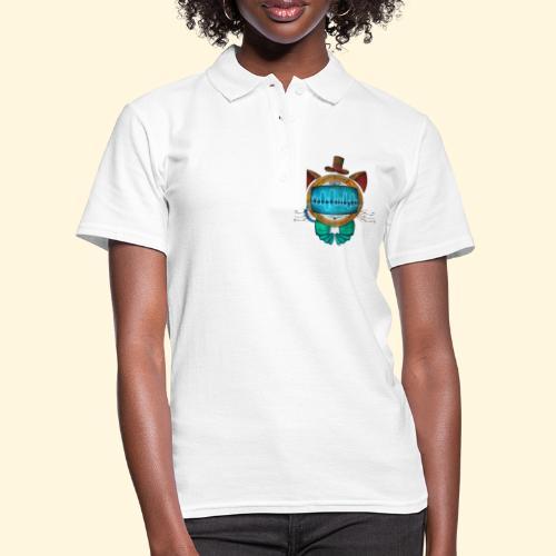 Shoupignon - Chat robot Steampunk - Women's Polo Shirt