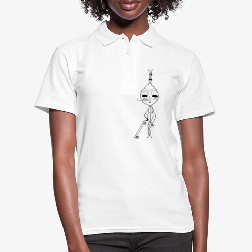 Schreckschraube - Frauen Polo Shirt