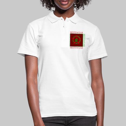 #Bestewear - Royal Line (Green/Red) - Frauen Polo Shirt