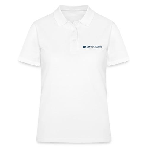 Gruenderszene_Logo_CMYK_4 - Frauen Polo Shirt