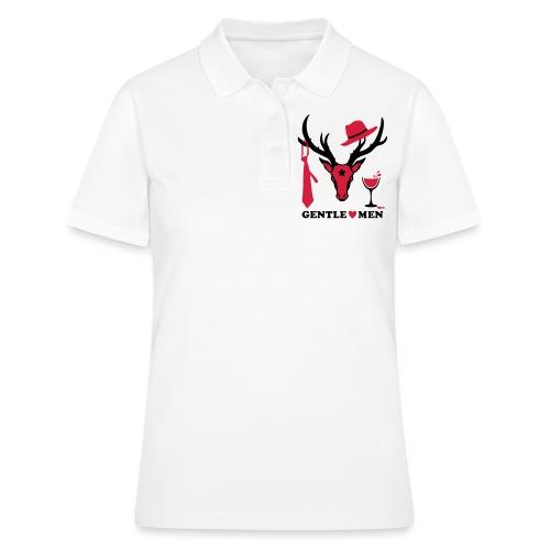 Hirsch / Deer the Gentlemen 2c Party - Frauen Polo Shirt