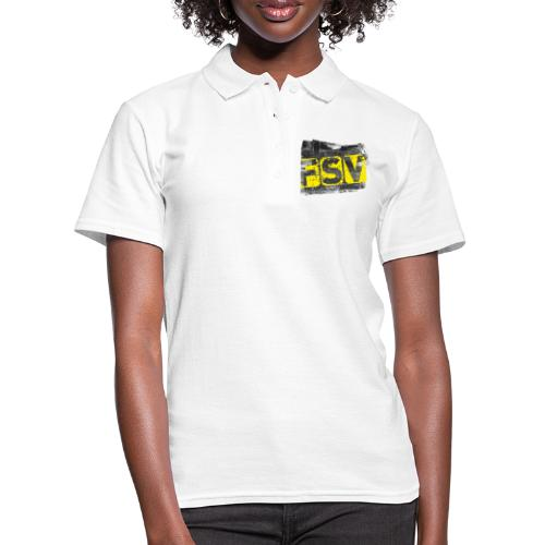Hildburghausen FSV 06 Graffiti black - Frauen Polo Shirt