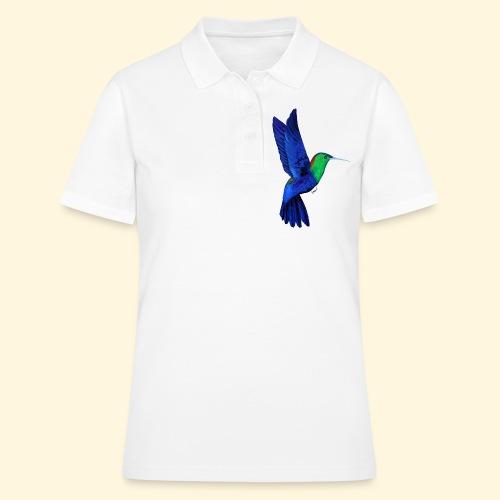 Colibri bleu et vert - Women's Polo Shirt