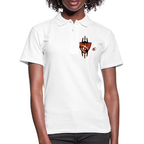 Ocelot Scratch White full - Women's Polo Shirt