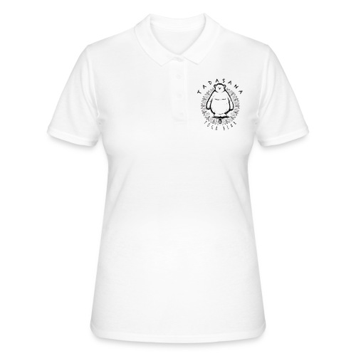 Tadasana by Yoga Bear - Women's Polo Shirt
