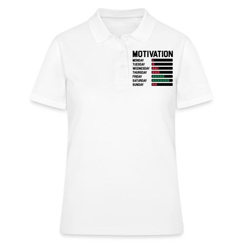 Wochen Motivation - Frauen Polo Shirt