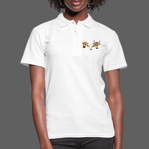 ADELLE, BRUNA, AGATE - Frauen Polo Shirt