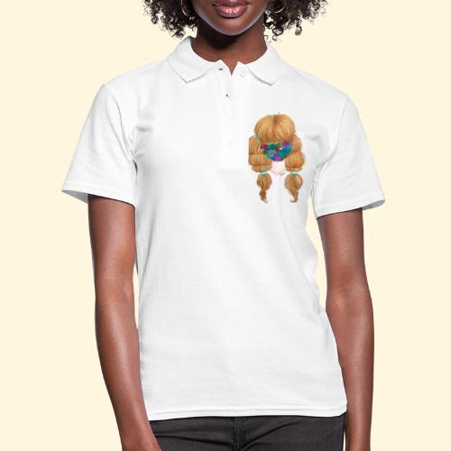 Fille masquée aux succulentes - Women's Polo Shirt