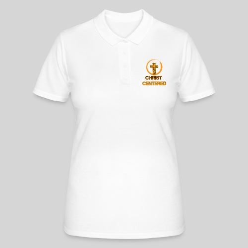 Christ Centered Focus on Jesus - Frauen Polo Shirt