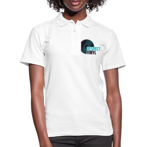 Blue Note • Respect Vinyl - Frauen Polo Shirt