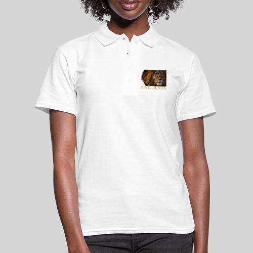 König Jesus der Löwe von Juda - Frauen Polo Shirt