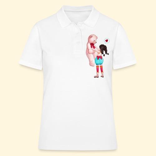 Fille au Nounours géant - Women's Polo Shirt