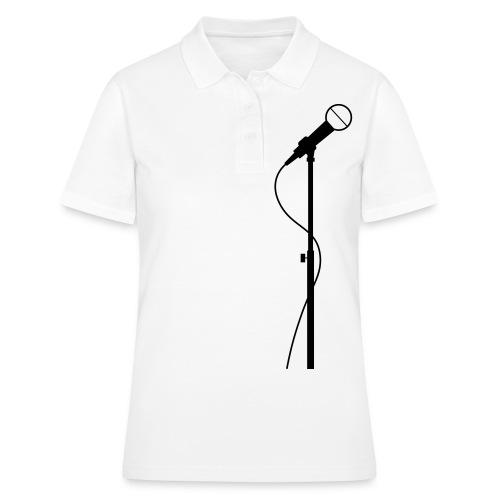 microphone - Women's Polo Shirt